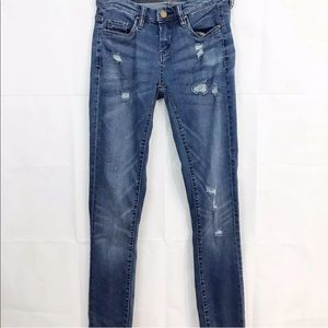 Blank Nyc Jeans Skinny Distressed Destroyed